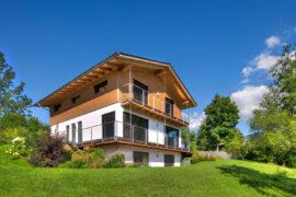 Holz100 Haus in Halblech