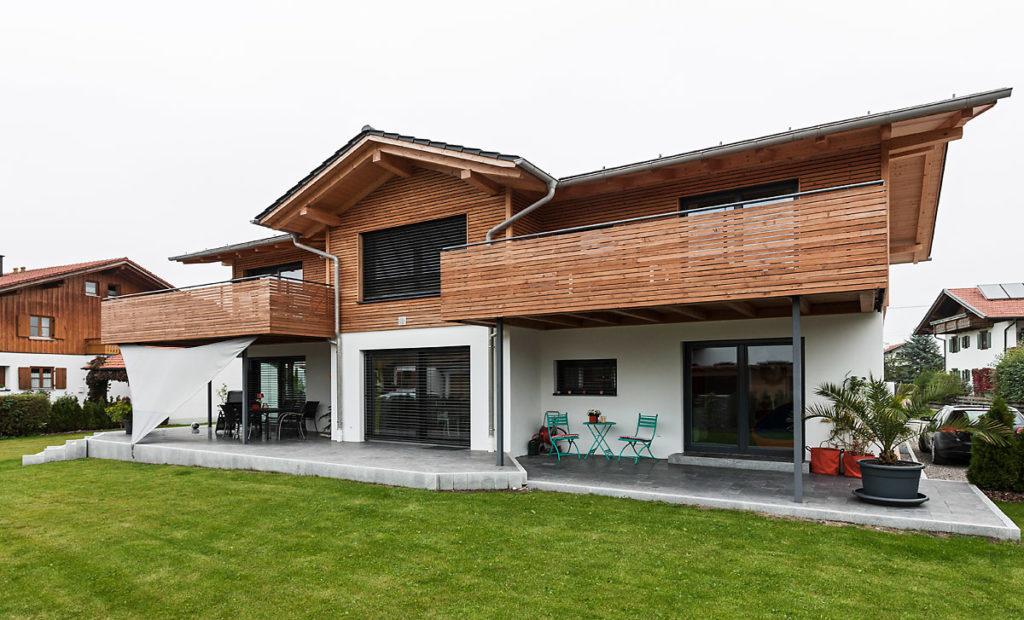 Holz100 Dreifamilienhaus in Trauchgau Johann Buchner GmbH