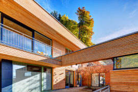 Holz100 Dreifamilienhaus in Wörthsee