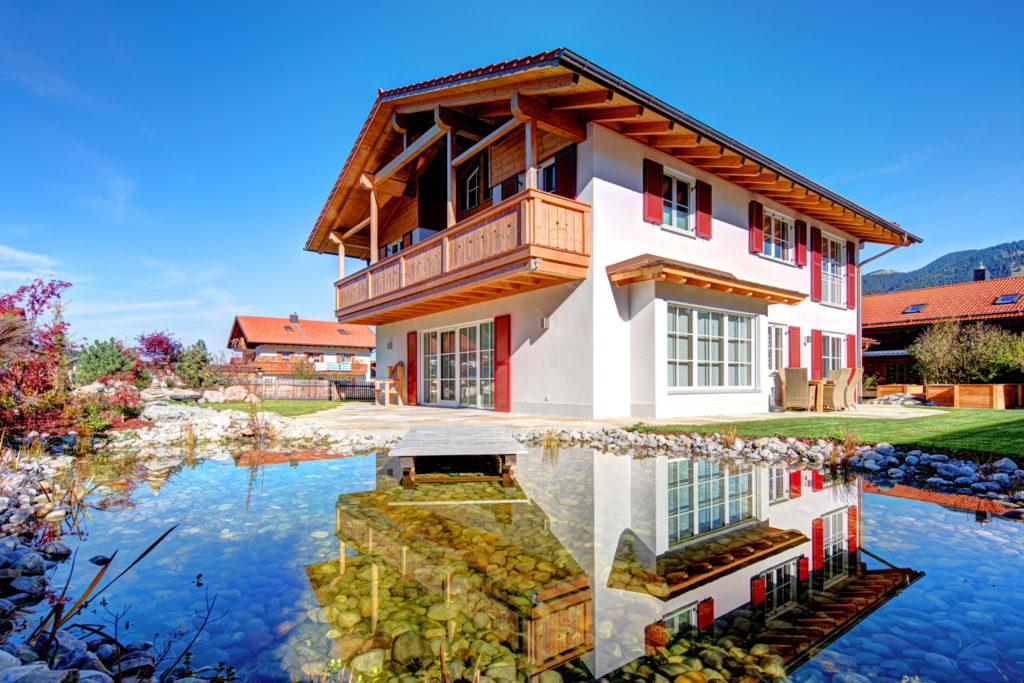 Holz100 Haus in Unterammergau - Johann Buchner GmbH