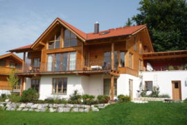 Holz100 Haus in Aidling