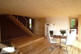 Modernes Holz100 Haus im Chiemgau