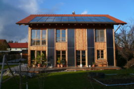 Holz100 Sonnenhaus in Uffing