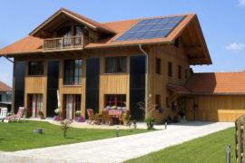 Holz100 Sonnenhaus in Kochel